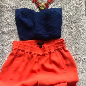 Jcrew Orange pants